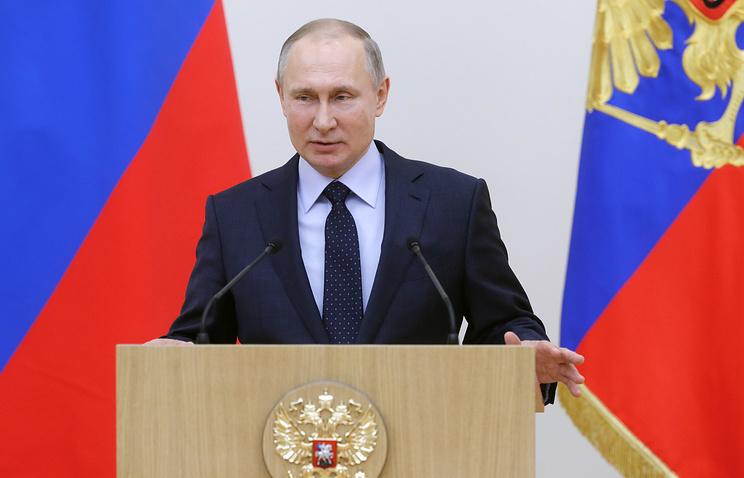 ЦИК зарегистрировал Путина