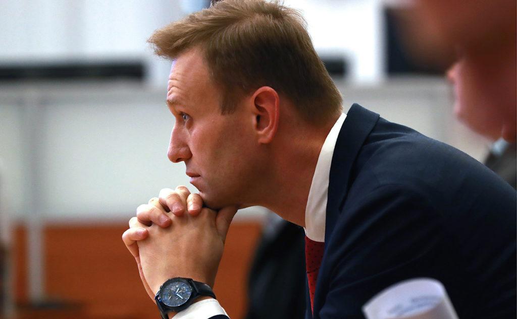 Роскомнадзор внес блог Навального