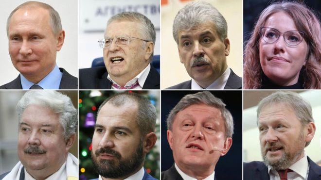 Внимание кандидатов в президенты
