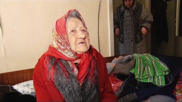 Ангарчанка умирает от голода