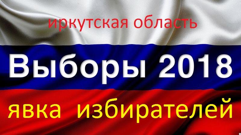Иркутская область явка избирателей
