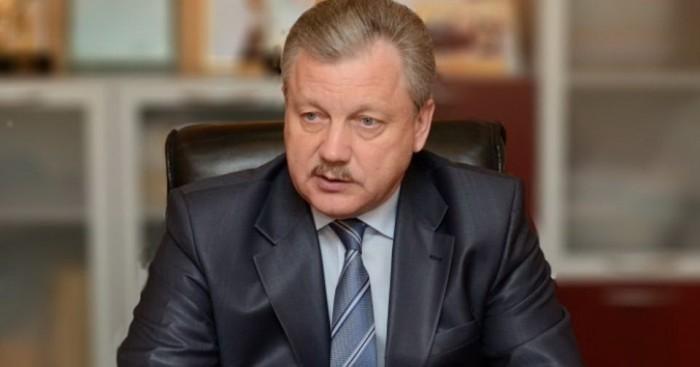 Мэр города Братска Сергей Серебренников