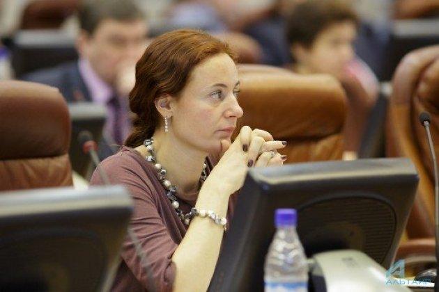 Депутат ЗС Приангарья Егорова