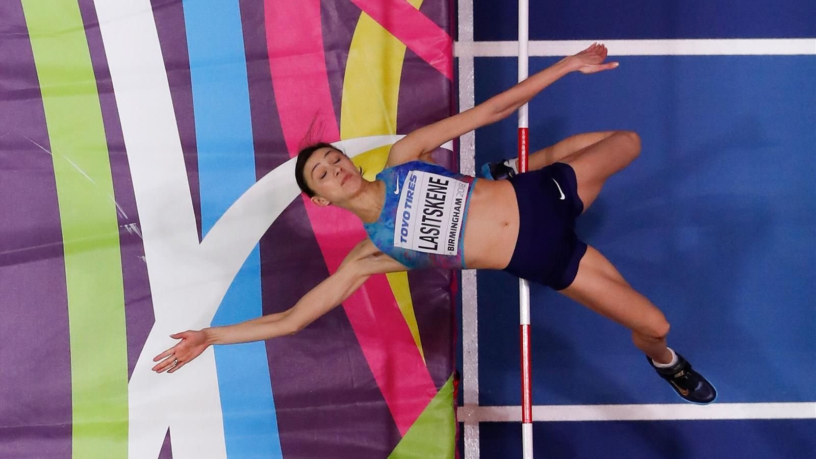 Мария Ласицкене Легкая атлетика Прыжки в высоту