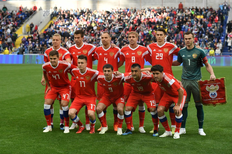 Футбол Сборная России