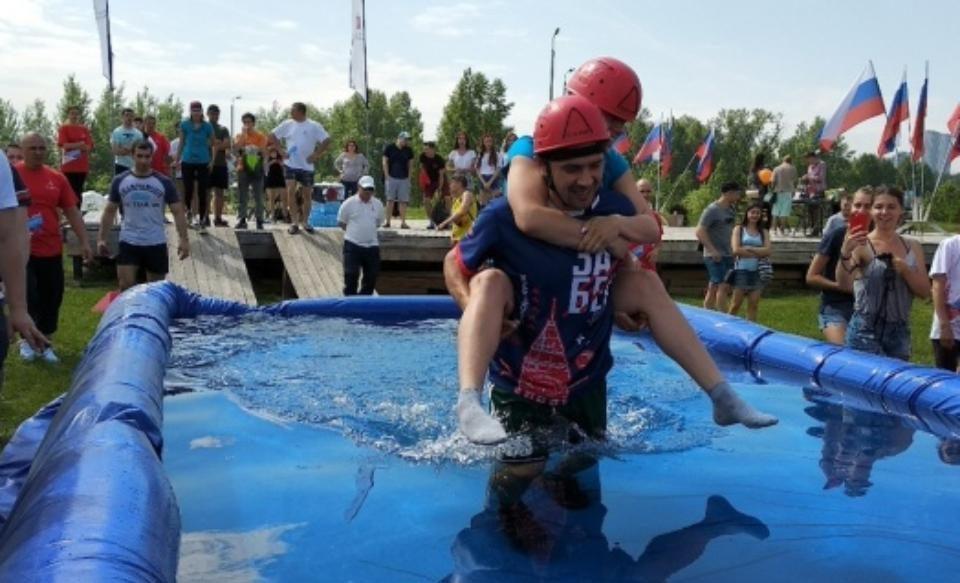Красноярск чемпионат по переноске жён
