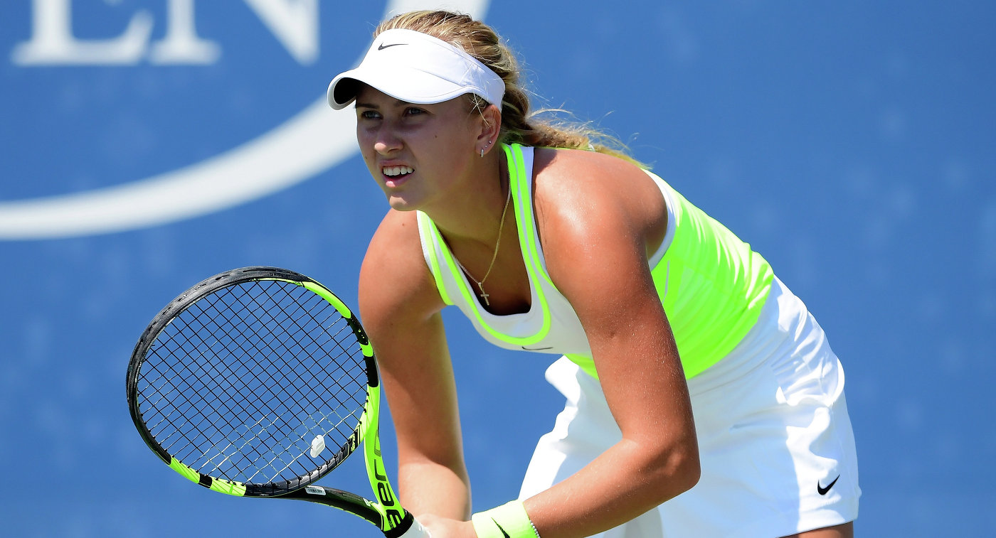 Анастасия Потапова теннис