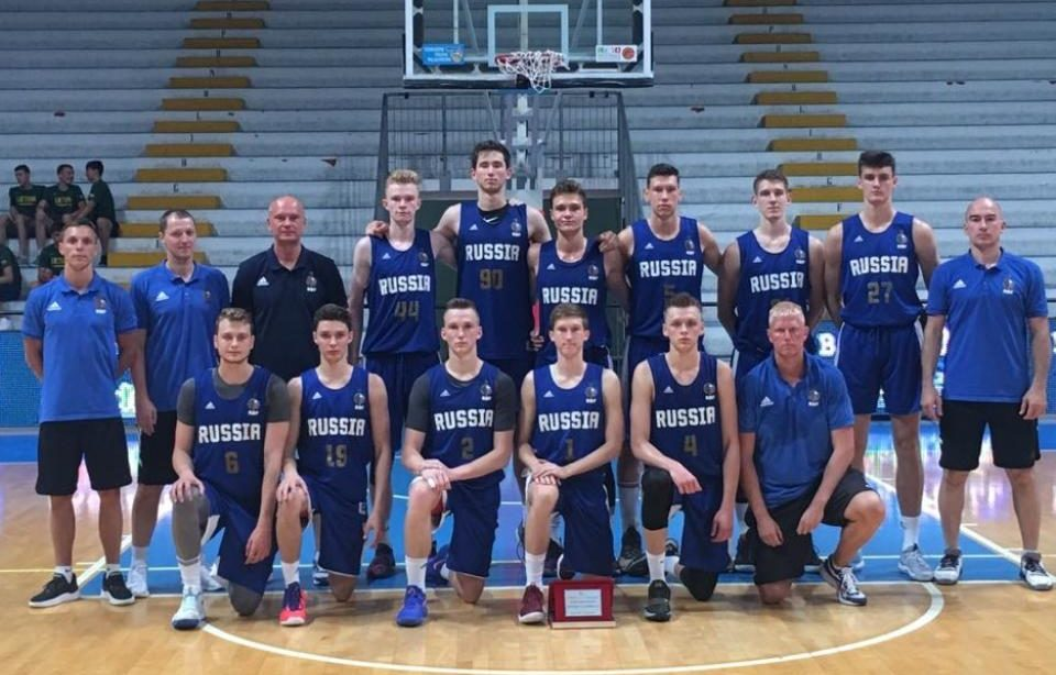 Юношеская сборная России по баскетболу