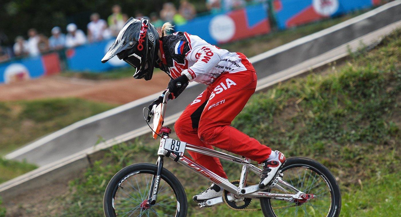 ВМХ велоспорт Ярослава Бондаренко