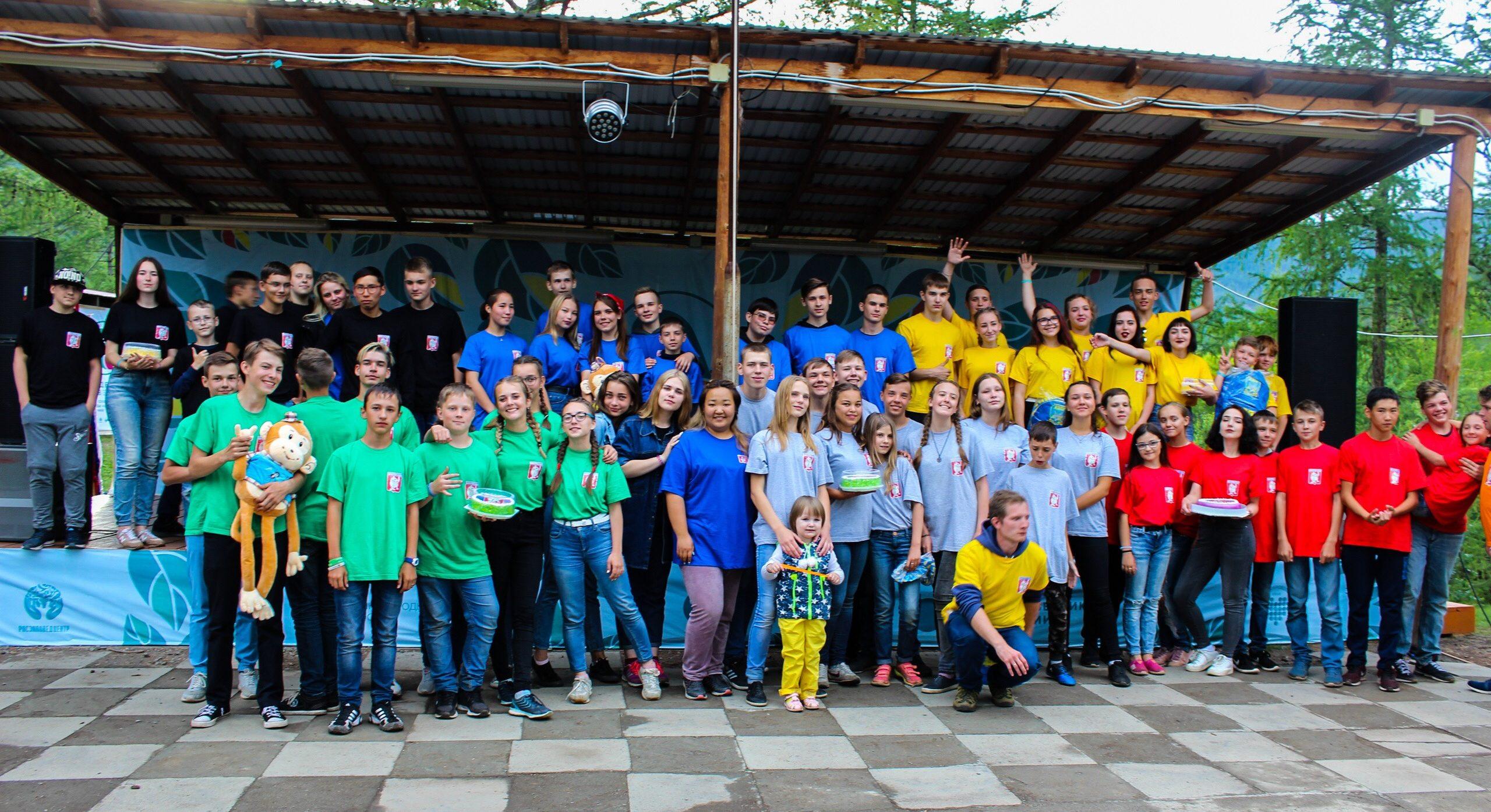 КВН на Байкале лагерь Странник
