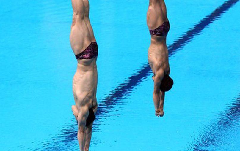 Прыжки в воду Минибаев Бондарь