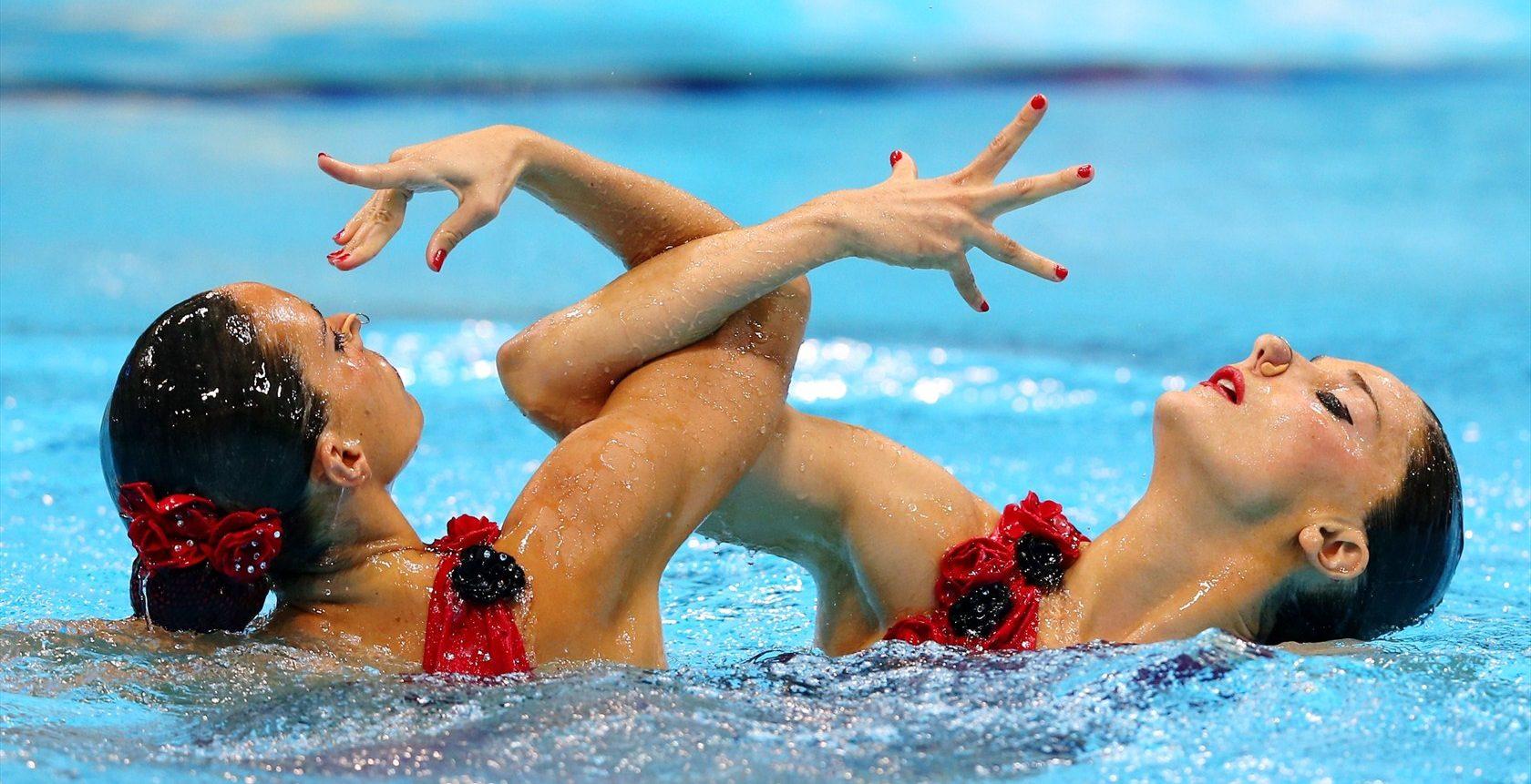 синхронное плаванье