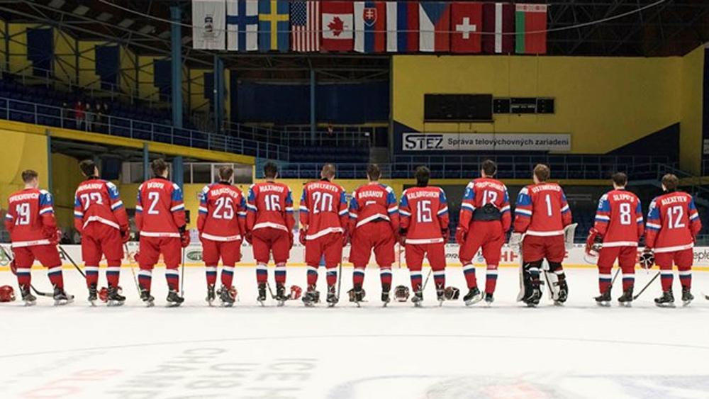 Юниоры сборная России по хоккею