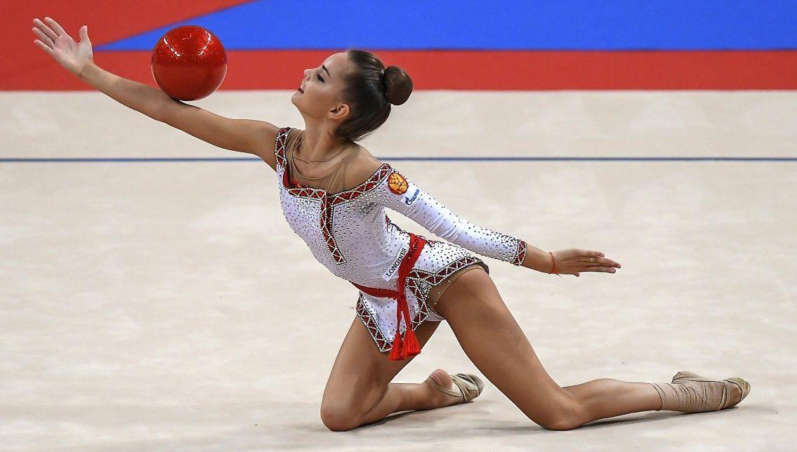 Дина Аверина Художественная гимнастика