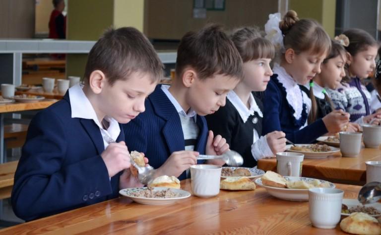 бесплатное питание учащихся