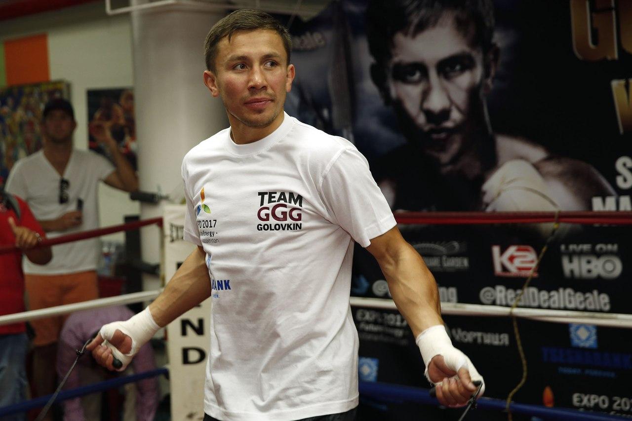 Геннадий Головкин бокс