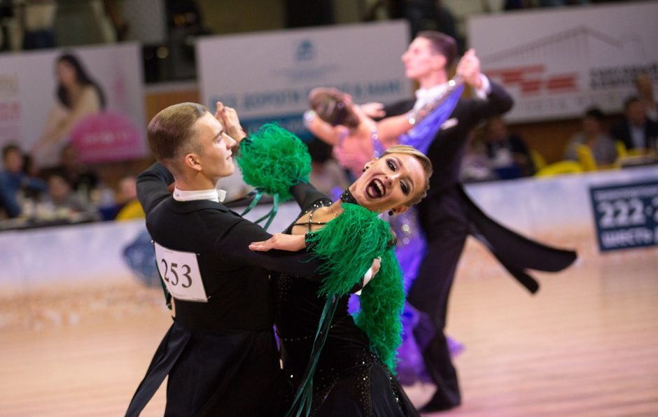 Танцевальный спорт турнир Голубой Байкал