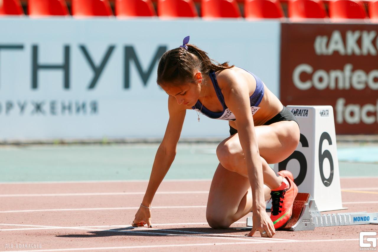 Легкая атлетика Полина Миллер