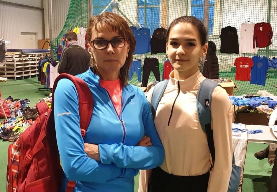 Ольга Родиошкина Легкая атлетика Бег