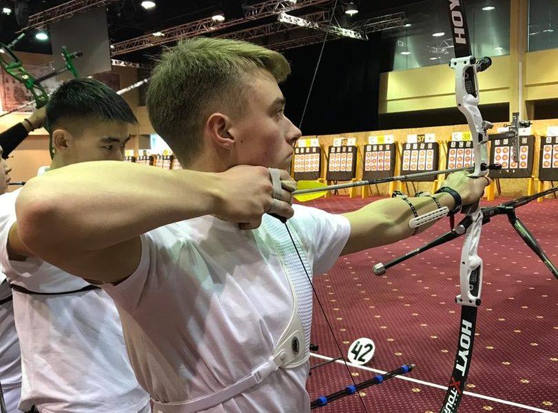 Никита Коковин Стрельба из Лука
