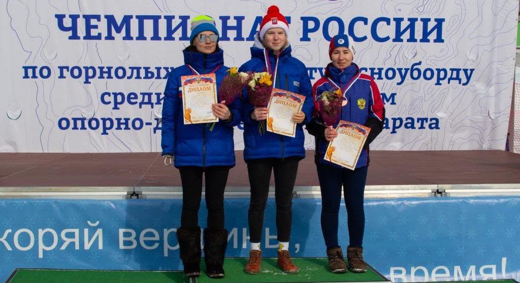 Варвара Ворончихина Горнолыжный спорт