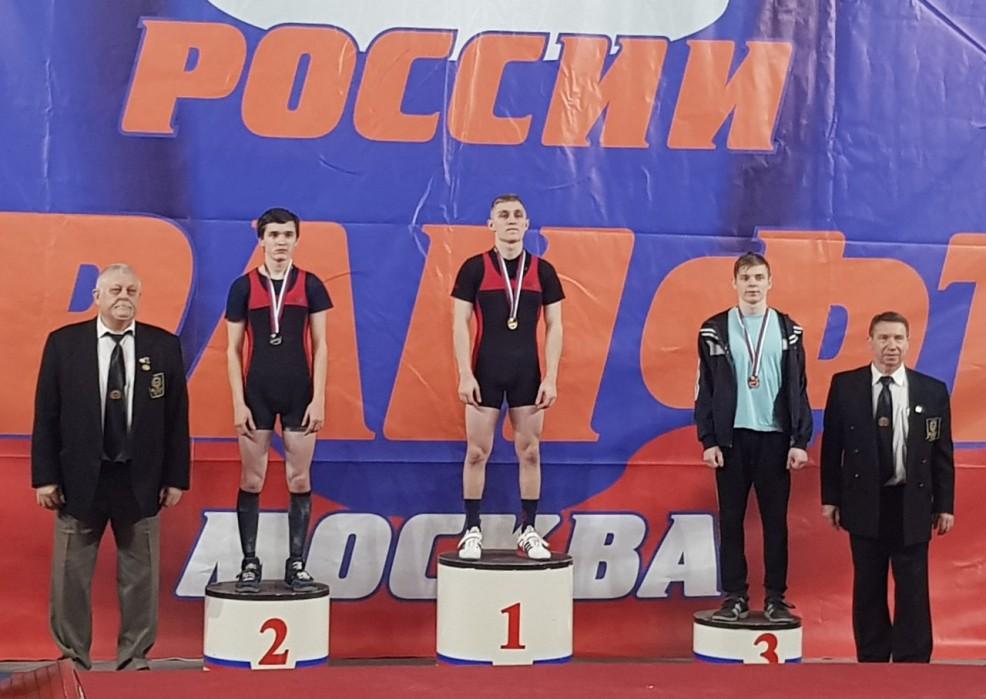 Призеры Первенство России Пауэрлифтинг