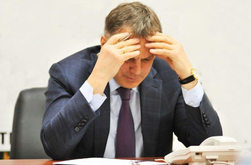Уличённый в коррупции мэр Ангарска