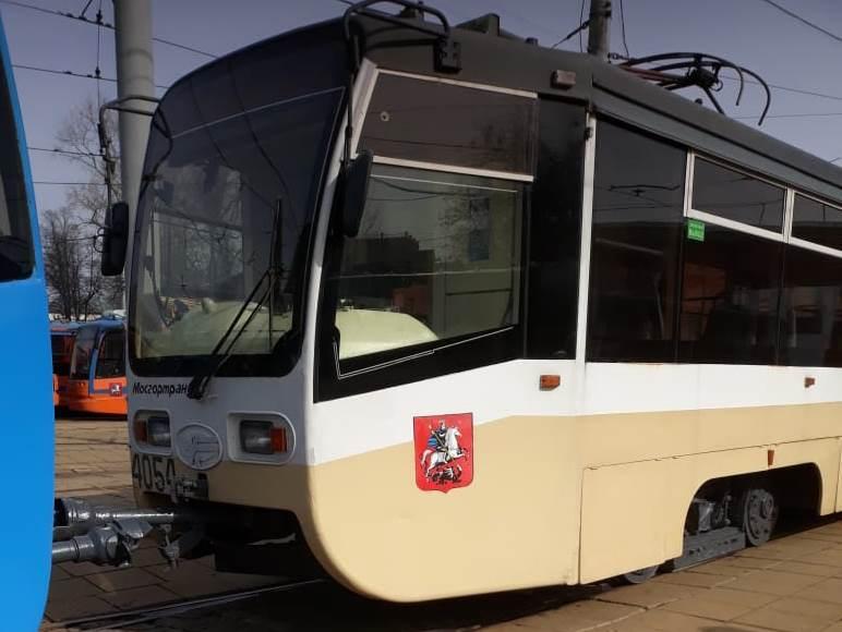Десять вагонов ангарских трамваев