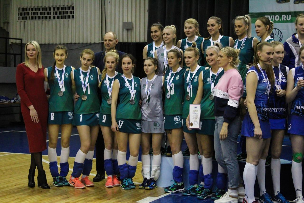Чемпионата России Волейбол ВК Ангара Серебряный призер