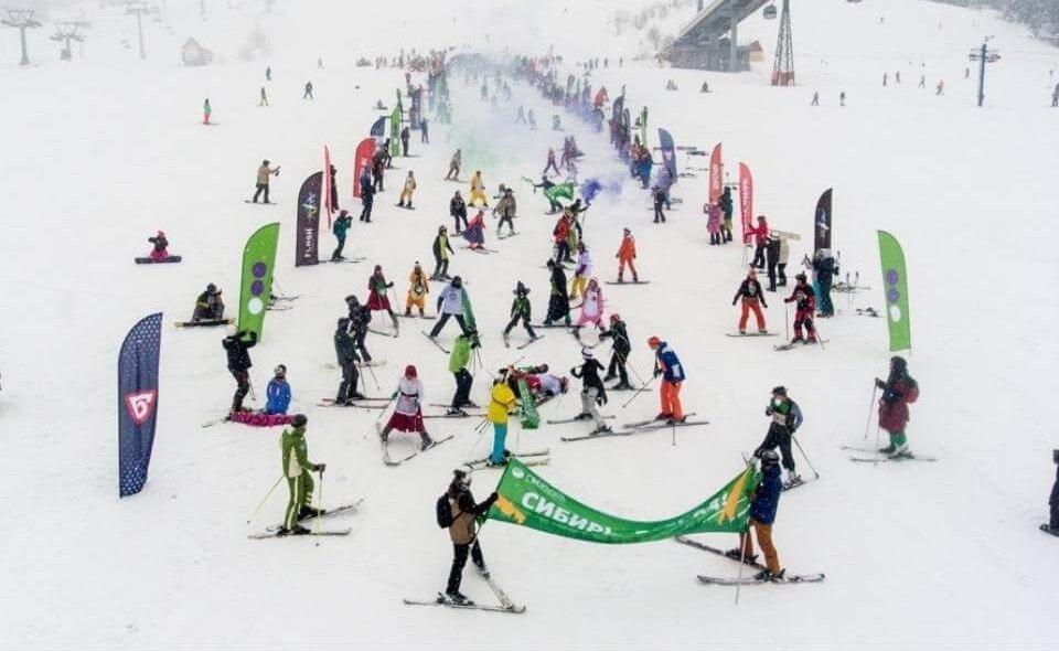 Grelka Fest горнолыжный спуск Шерегеш