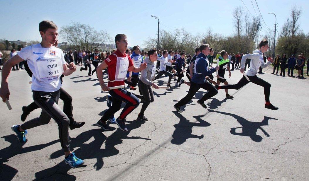Легкоатлетическая эстафета День победы