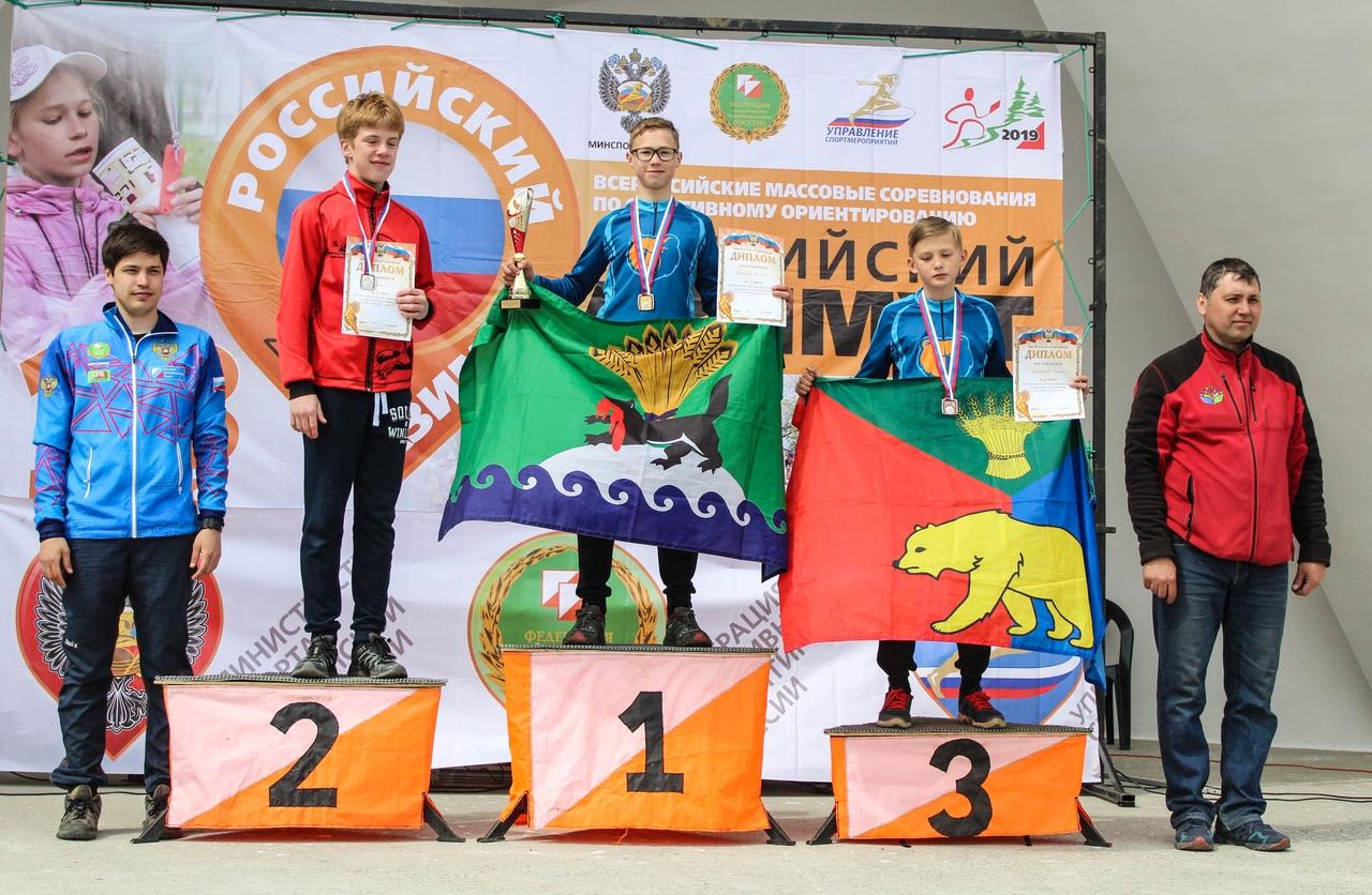 Всероссийские соревнования Спортивное ориентирование Российский Азимут – 2019 Призеры