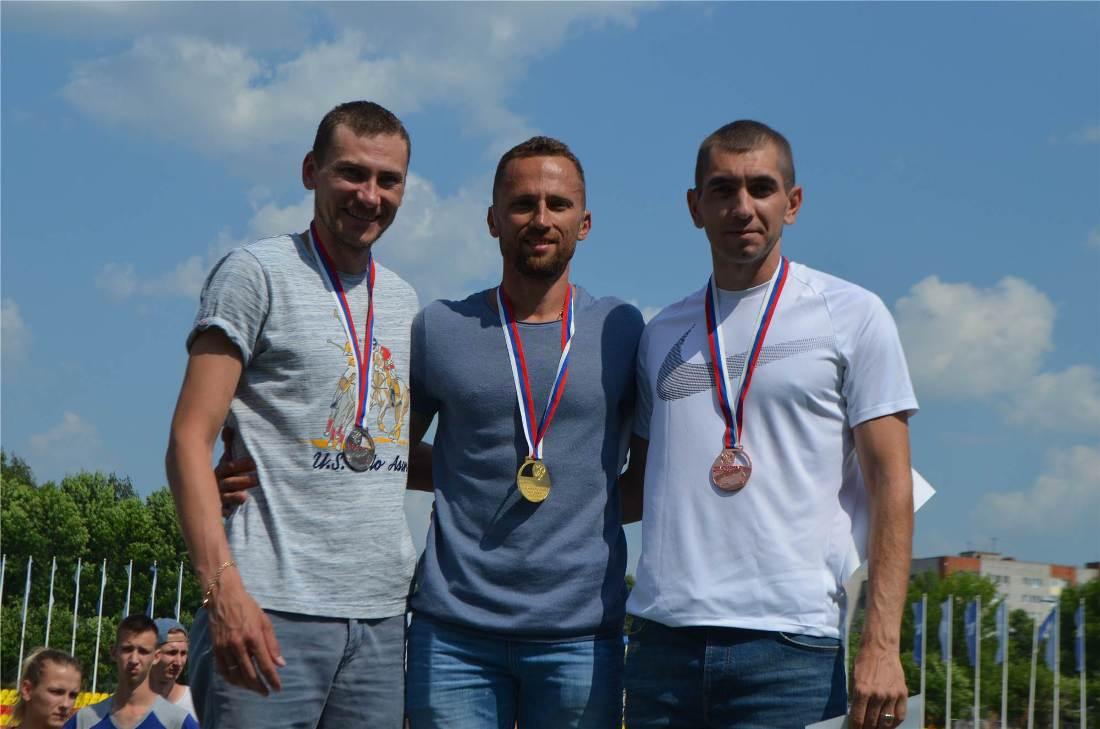 Кубок России Легкая атлетика Слабослышащие Призеры