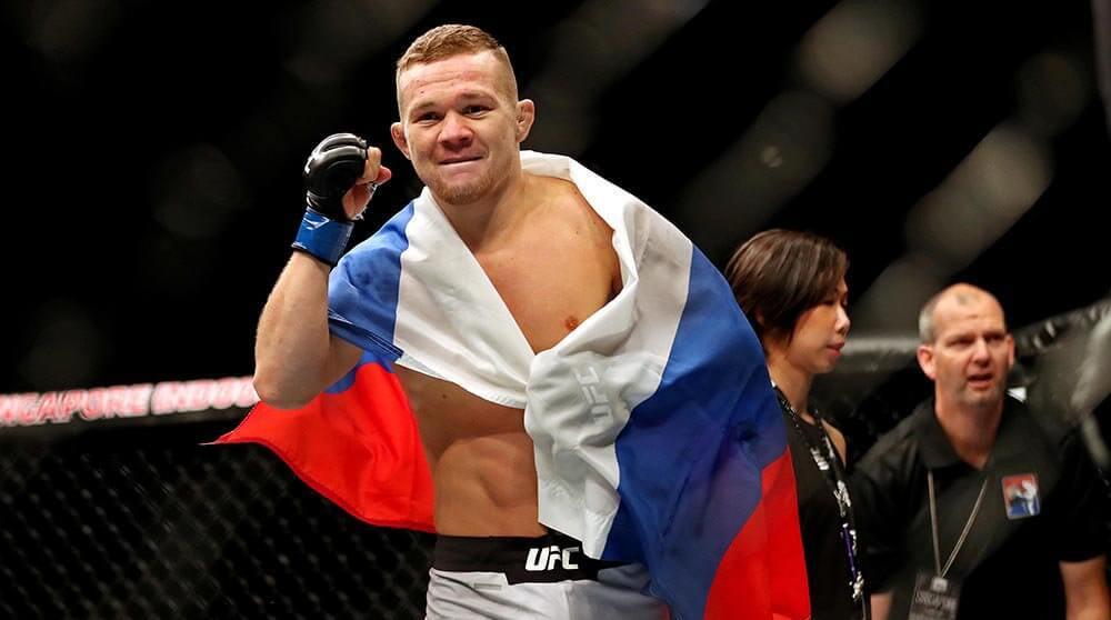 Петр Ян ММА UFC