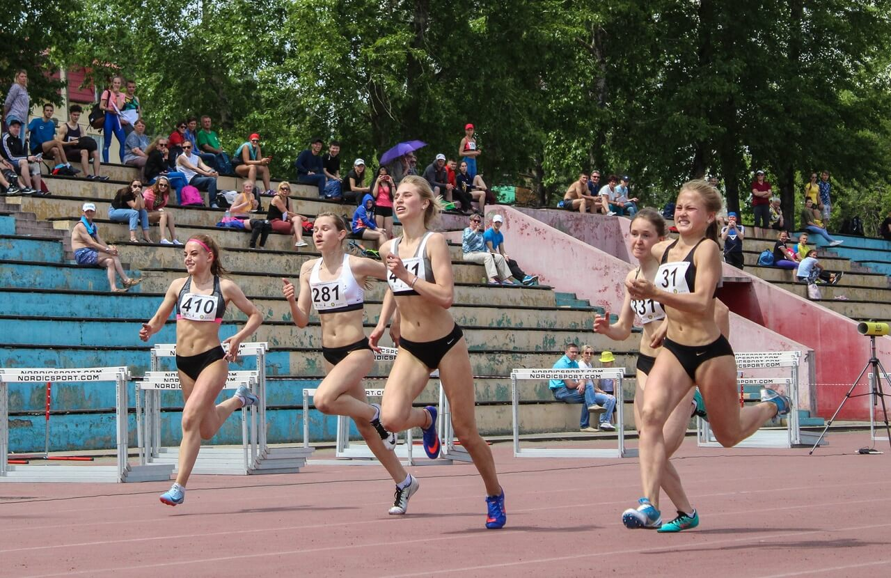 Спартакиада учащихся Легкая атлетика Бег