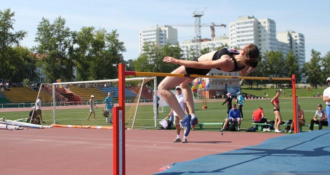 Легкая атлетика Прыжки в высоту