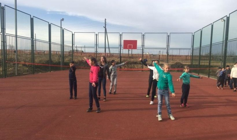 Спорт Площадка Дети