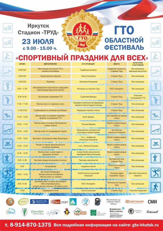 ВФСК ГТО Спортивный праздник