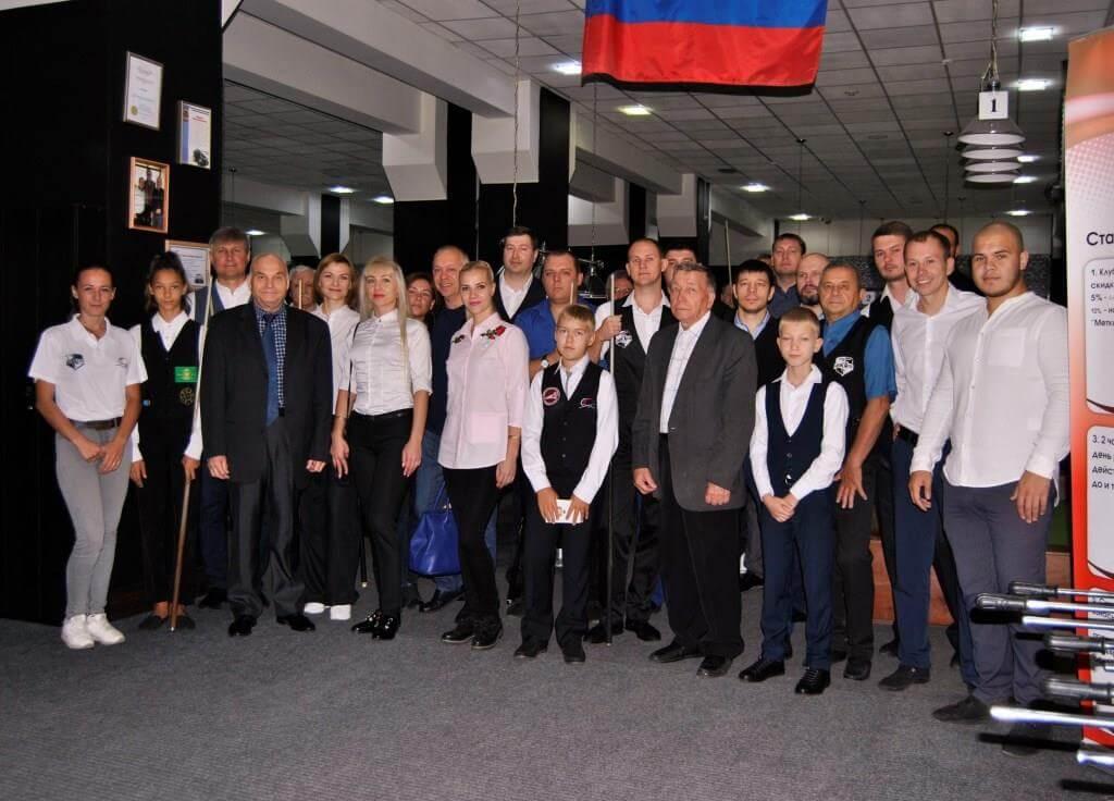 Участники Чемпионат области Иркутск Бильярд
