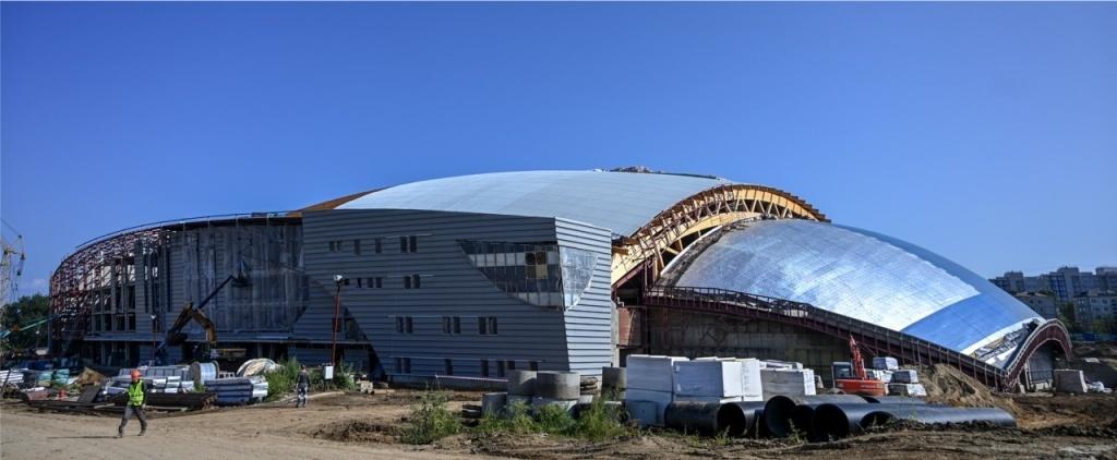 Центр по хоккею с мячом и конькобежным видам спорта Иркутск