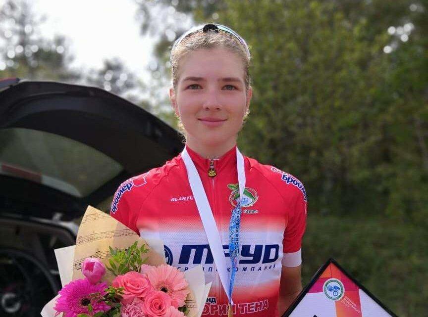 Дарья Бунеева Велогонки Усолье-Сибирское
