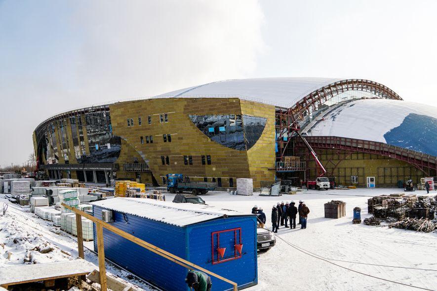 Центр по хоккею с мячом Иркутск