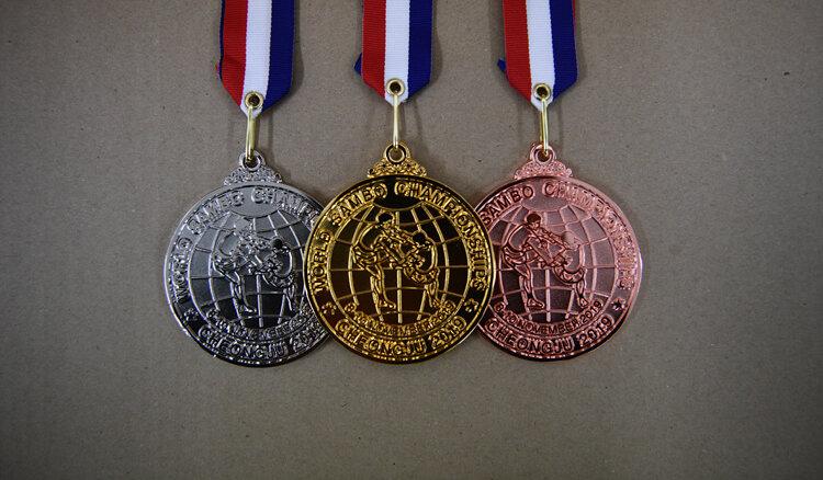 Самбо Медали