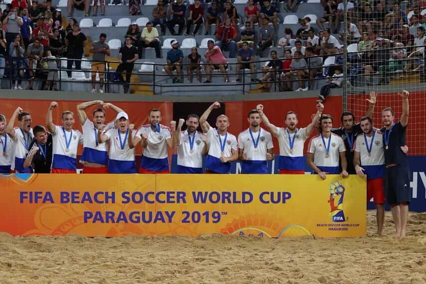 Сборная России Пляжный футбол