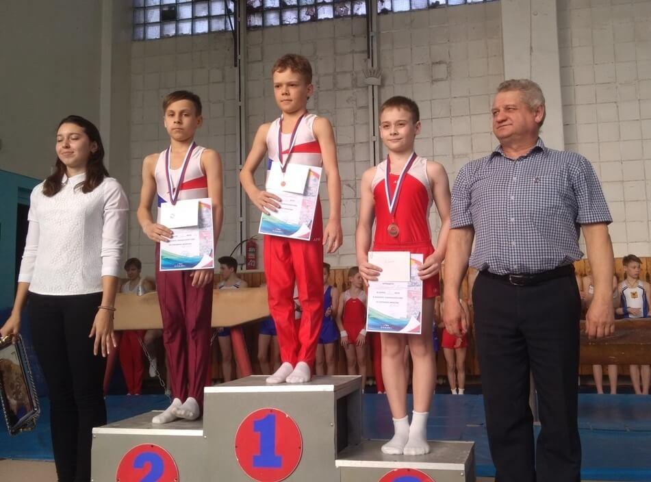Спортивная гимнастика Дети