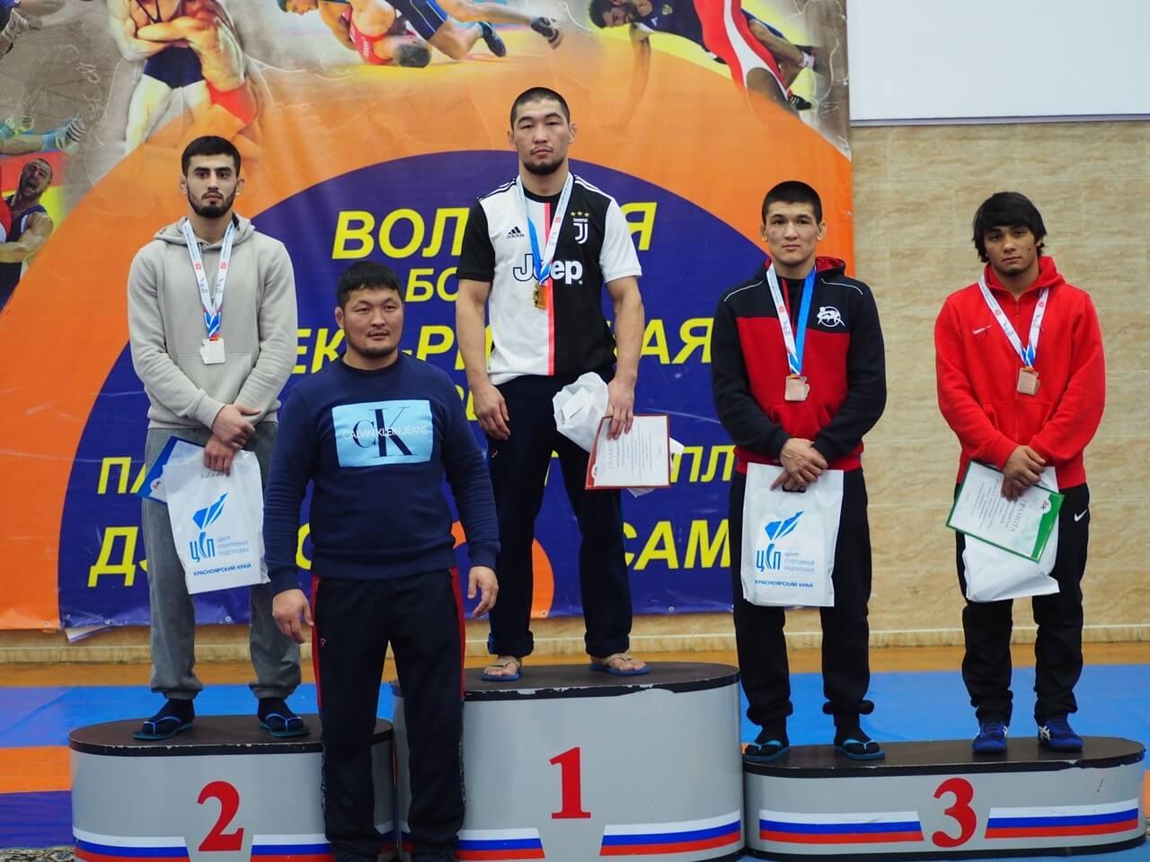 Призеры турнир на призы Академии борьбы имени Д.Г. Миндиашвили