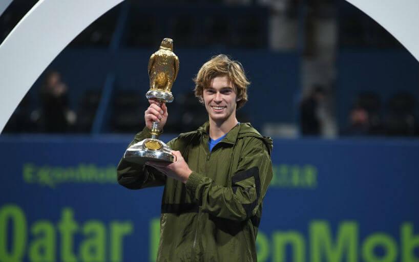 Андрей Рублёв Теннис ATP Доха