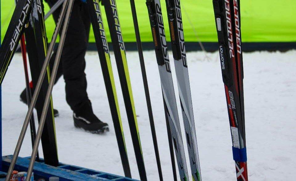 Спартакиада Лыжные гонки