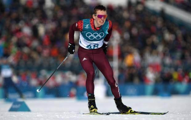 Денис Спицов лыжные гонки