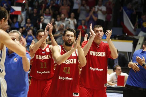 Сборная России Баскетбол